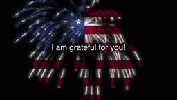 I am Grateful - Independence Day!