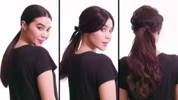 3 ways to wear a ponytail #CasaAziz @Princeton