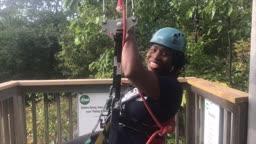 Dr. Joan - Conquering Fear - Zip Line #LetMeBeMeNJ