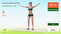 6 Easy Exercises To Remove Back Fat Fast