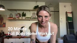 20 Minute Bodyweight Workout with Keighty Gallagher | lululemon