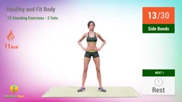 12 Standing Exercises For A Healthy And Fit Body (No Jumping)