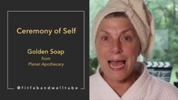 Golden Soap Review @planetapothecary
