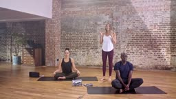 Yoga for Beginners 20 Minute Class with Annie Clarke