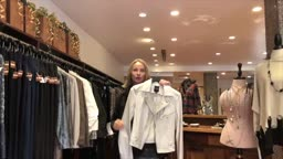 What are the trend for fall jackets with Jes Ruzic visiting Princeton Highbarboutique