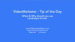 How-to video: Landscape or Vertical - What to do?