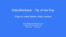 3 tips to make better video content