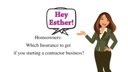 Which Insurance to have when starting a Contractor Business