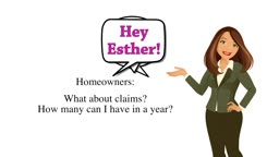 Hey Esther! Homeowners - What about claims?